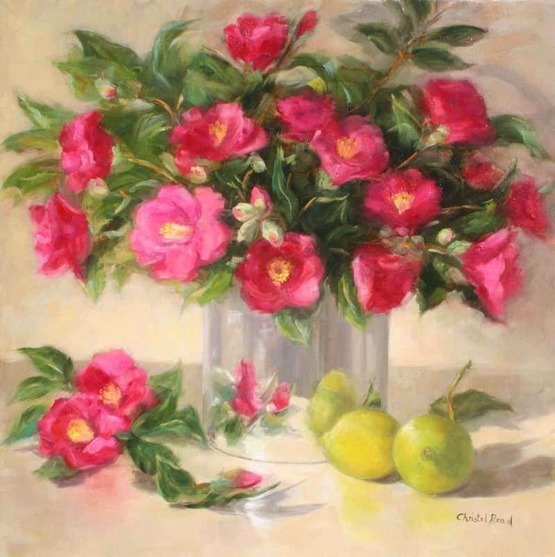Camellias & Lemons