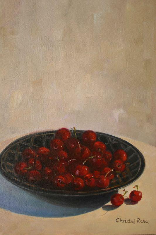Cherries In African Bowl