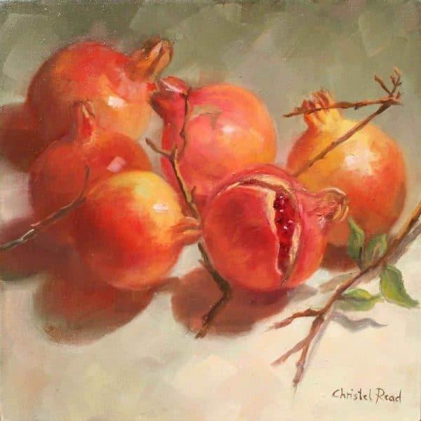 Pomegranates in the Lght