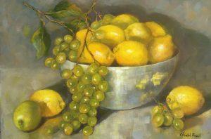 Lemons and grapes