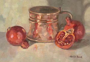 Copper and pomegranates
